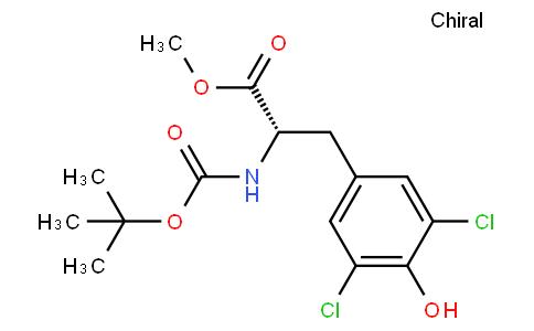 178222 - 3,5-Dichloro-N-[(1,1-dimethylethoxy)carbonyl]-L-tyrosine methyl ester | CAS 261926-09-4